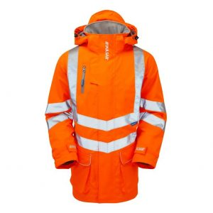 PR502 pulsarail rail spec padded storm coat